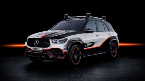 Mercedes Experimental Safety Vehicle