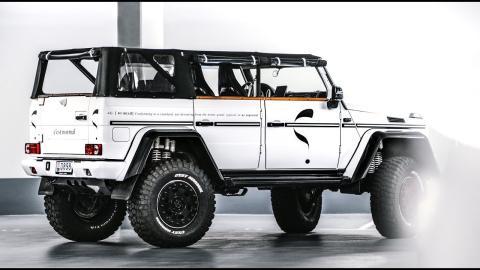 Mercedes G500 4×4² 'Safari' Convertible