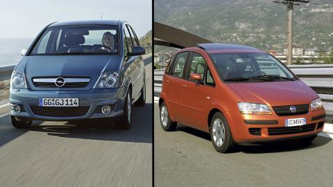 Opel Meriva vs Fiat Idea