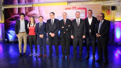 Presentación del GP de España de F1 en Madrid