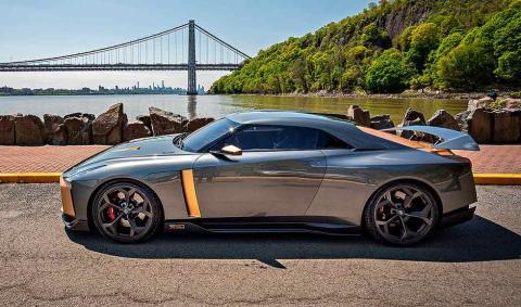 Prueba del Nissan GT-R50 by Italdesign