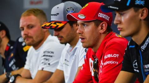 Rueda de prensa GP España F1