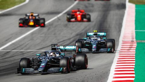 Salida GP España 2019