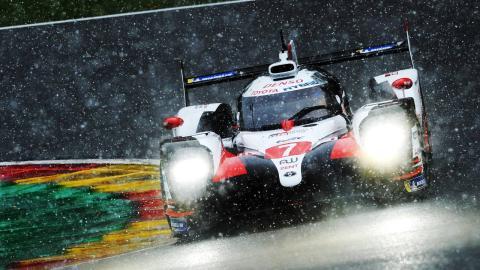 Toyota 7 en las 6 Horas de Spa-Francorchamps