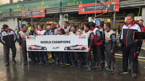 Toyota campeón del WEC 2018/2019