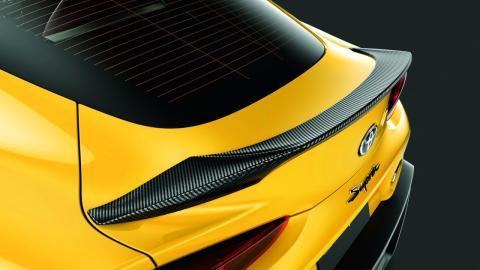 Toyota GR Supra componentes TRD