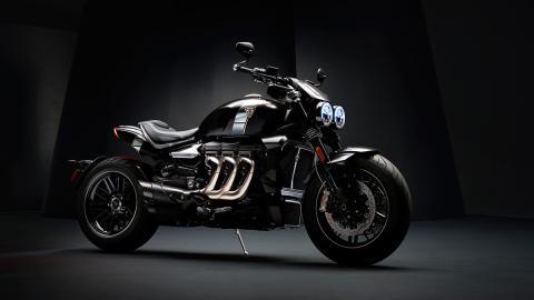 moto custom lujo altas prestaciones tecnologia