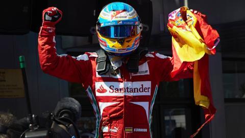 Victoria de Fernando Alonso en 2013