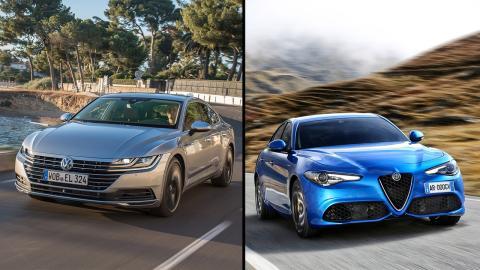 Alfa Romeo Giulia vs Volkswagen Arteon