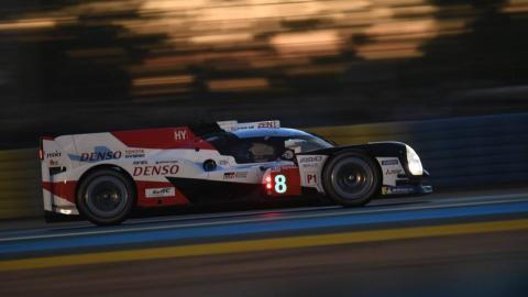Alonso en Le Mans