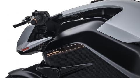 moto electrica altas prestaciones lujo