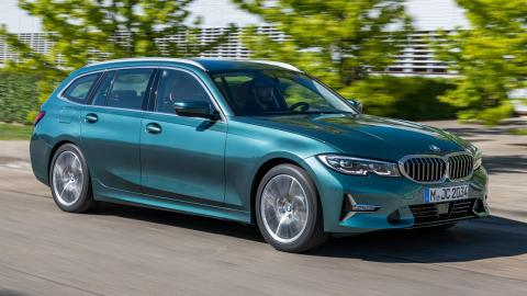 BMW Serie 3 Touring 2019 frontal