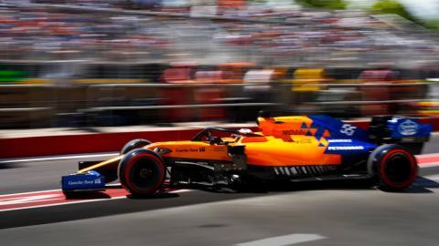 Carlos Sainz en el GP de Canadá