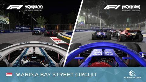 Comparativa F1 nocturna