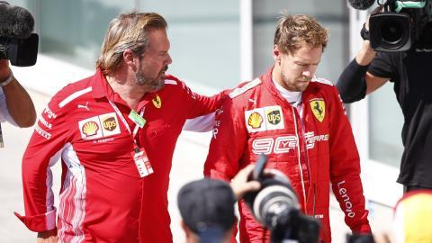 Enfado de Vettel en Canadá