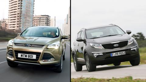 Ford Kuga vs Kia Sportage