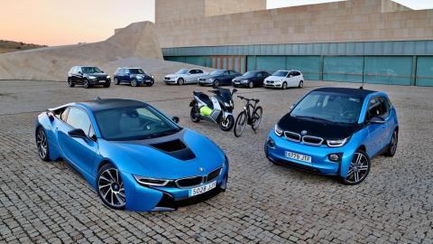 hibridos y electricos BMW