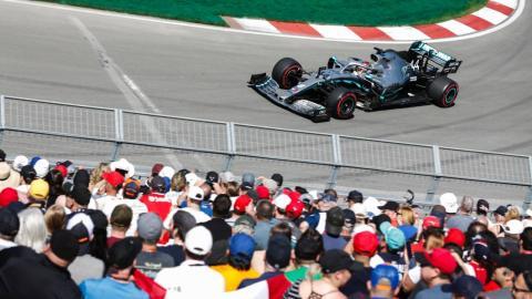 Lewis Hamilton Libres 1 Canadá