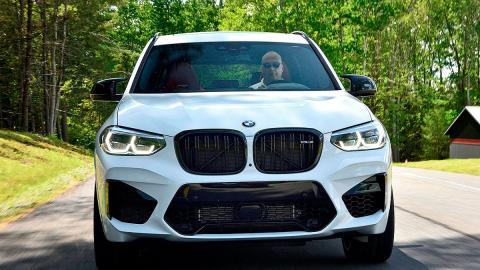 Prueba del BMW X3 M Competition