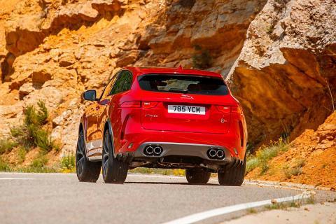 Prueba: Jaguar F-Pace SVR