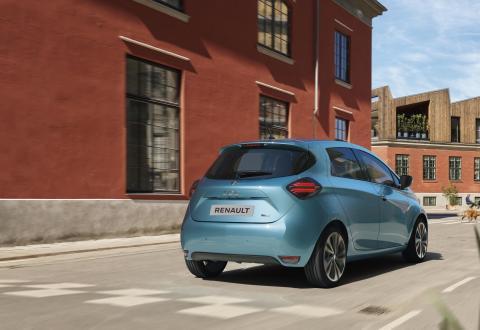 Nuevo Renault Zoe trasera