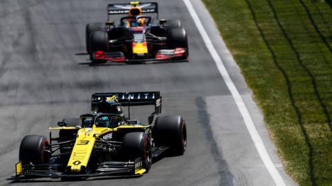 Ricciardo en el GP de Canadá