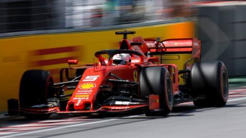 Sebastian Vettel en el GP Canadá F1