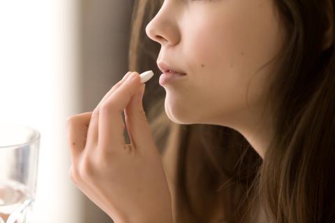 Tomar pastilla
