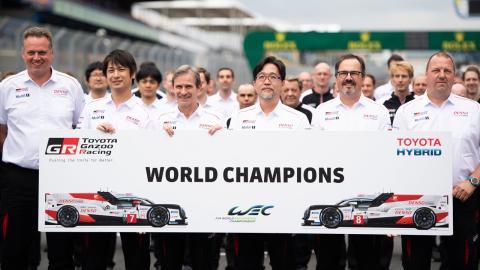 Toyota campeón del mundo del WEC