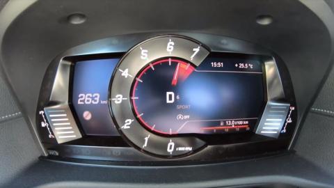 velocidad máxima Toyota Supra