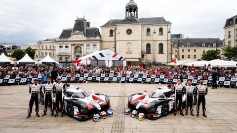 Verificaciones de Toyota en Le Mans