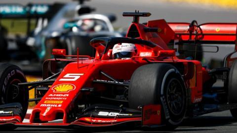 Vettel en el GP Canadá