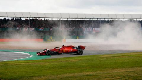 Accidente entre Vettel y Verstappen