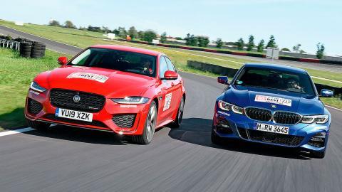 Comparativa del Jaguar XE vs BMW Serie 3