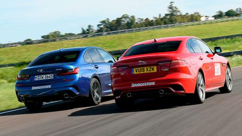 Comparativa del Jaguar XE vs BMW Serie 3