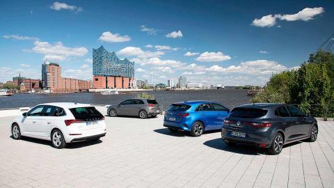 Comparativa del Skoda Scala vs Hyundai i30, Kia Ceed y Renault Mégane