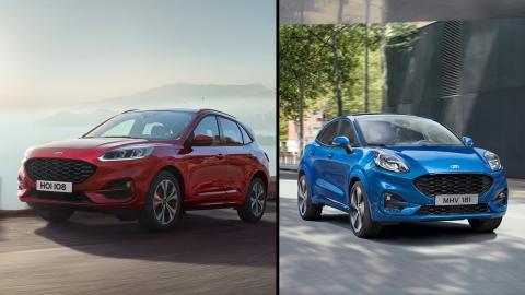 Diferencias Ford Kuga vs Ford Puma