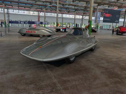 Fiat Abarth 750 Record Bertone