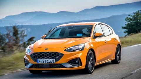 Ford Focus ST 2019 Orange Fury