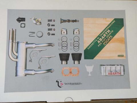 Kit preparación Abarth