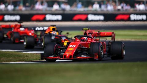 Leclerc y Verstappen