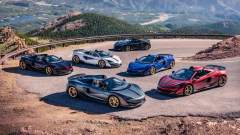 McLaren 'Pikes Peak Collection'