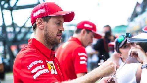 Piloto de Ferrari