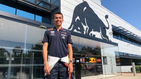 Alex Albon Red Bull