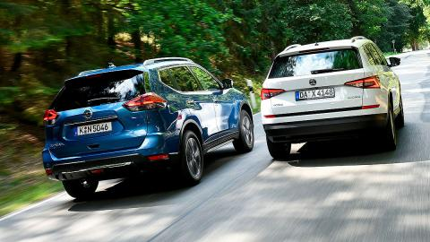 Comparativa: Nissan X-Trail vs Skoda Kodiaq