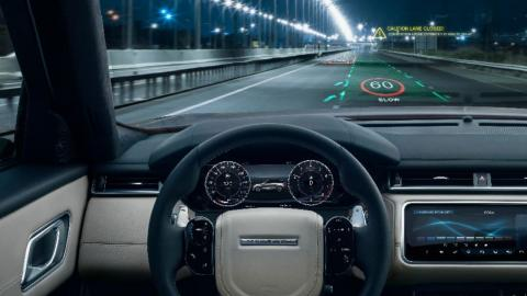 Head-Up Display 3D Jaguar-Land Rover