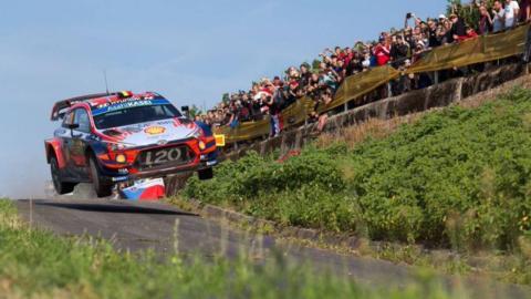 Hyundai en el Rally de Alemania