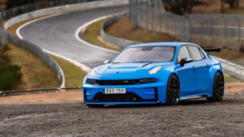 Lynk & Co 03 Cyan Concept Nurburgring