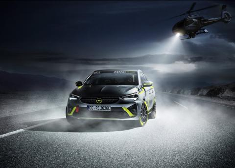 Opel e-Corsa Rally