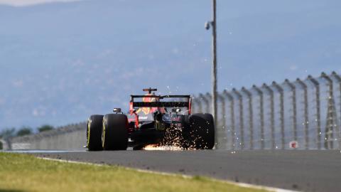 Parte trasera F1